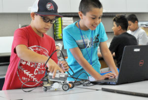 As part of the Central Enrichment Summer Adventures (CESA) program in Fresno, CA, kids from 4th to 7th grade enjoy a stimulating five-week Summer Matters program featuring literacy training, fun electives and healthy activities.